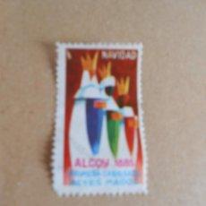Sellos: NAVIDAD-PRIMERA CABALGATA REYES MAGOS -ALCOY 1885-. Lote 80974410