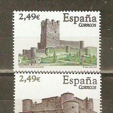 Sellos: ESPAÑA CASTILLOS NUM. 4349/50 ** SERIE COMPLETA SIN FIJASELLOS. Lote 42901019