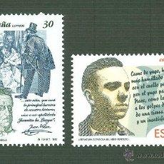 Sellos: LITERATURA ESPAÑOLA. PERSONAJES DE FICCIÓN. 1995. EDIFIL 3356-7. Lote 166277773