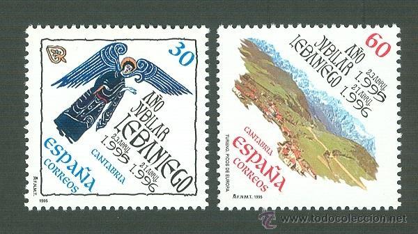 AÑO JUBILAR LEBANIEGO. 1995. EDIFIL 3354-5 (Sellos - España - Juan Carlos I - Desde 1.986 a 1.999 - Nuevos)