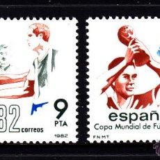 Timbres: ESPAÑA SH 2664A/64B** - AÑO 1982 - CAMPEONATO DEL MUNDO DE FUTBOL DE ESPAÑA. Lote 43032613