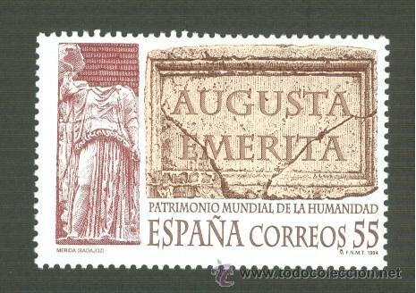 BIENES CULTURALES Y NATURALES PATRIMONIO MUNDIAL DE LA HUMANIDAD. 1994. EDIFIL 3316 (Sellos - España - Juan Carlos I - Desde 1.986 a 1.999 - Nuevos)