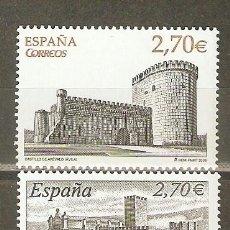 Sellos: ESPAÑA CASTILLOS EDIFIL NUM. 4510/4511 ** SERIE COMPLETA SIN FIJASELLOS. Lote 43120517