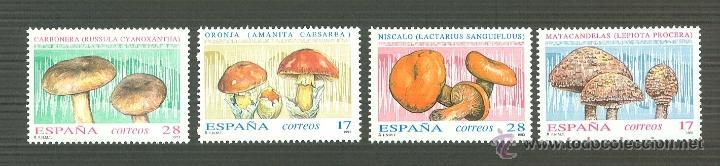 MICOLOGÍA.1993. EDIFIL 3244-7 (Sellos - España - Juan Carlos I - Desde 1.986 a 1.999 - Nuevos)