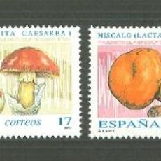 Sellos: MICOLOGÍA.1993. EDIFIL 3244-7. Lote 43123606