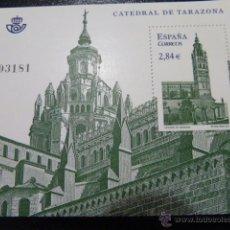 Sellos: SELLO HOJA BLOQUE NUEVO CATEDRAL DE TARAZONA 2011. Lote 43350227