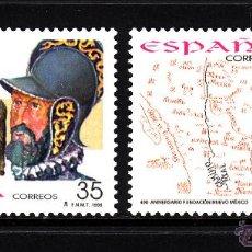 Sellos: ESPAÑA 3598/99** - AÑO 1998 - 4º CENTENARIO DE LA FUNDACION DE NUEVO MEXICO. Lote 43354818