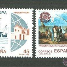 Sellos: EUROPA. 1992. EDIFIL 3196-97. Lote 43370141