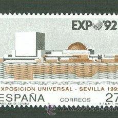 Sellos: EXPOSICIÓN UNIVERSAL SEVILLA 92. 1992. EDIFIL 3155. Lote 43370234