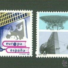 Sellos: EUROPA. EUROPA ESPACIAL. 1991. EDIFIL 3116-17. Lote 43370359