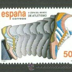 Sellos: V COPA DEL MUNDO DE ATLETISMO. 1989. EDIFIL 3023. Lote 155786905