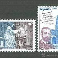 Sellos: LITERATURA ESPAÑOLA. PERSONAJES DE FICCIÓN. 1996 EDIFIL 3456-7. Lote 165052472