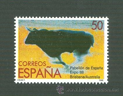EXPOSICIÓN MUNDIAL 1988. BRISBANE (AUSTRALIA). 1988. EDIFIL 2953 (Sellos - España - Juan Carlos I - Desde 1.986 a 1.999 - Nuevos)