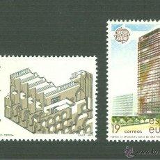 Sellos: EUROPA. ARTES MODERNAS. ARQUITECTURA. 1987. EDIFIL 2904-05. Lote 53514628