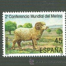 Sellos: II CONFERENCIA MUNDIAL DEL MERINO. 1986. EDIFIL 2839. Lote 165060209