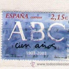 Sellos: ABC .ESPAÑOLA. AÑO 2003 . CATÁLOGO 5,00 €. Lote 77434886