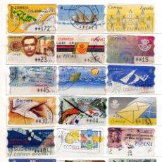 Sellos: 24 ETIQUETAS ATMS. Lote 44304348