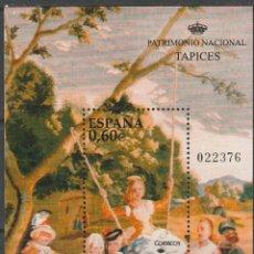 Sellos: ESPAÑA. 2008. H/B PATRIMONIO NACIONAL. TAPICES , ** (TC444). Lote 44319973