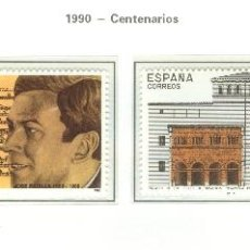 Sellos: CENTENARIOS. 1990. EDIFIL 3069-72. Lote 44799479