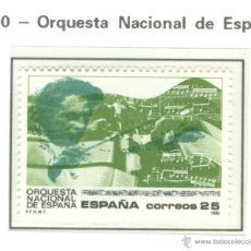Sellos: ORQUESTA NACIONAL DE ESPAÑA. 1990. EDIFIL 3098. Lote 44799809