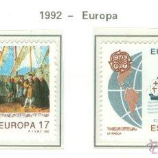 Sellos: EUROPA. 1992. EDIFIL 3196-97. Lote 44808044