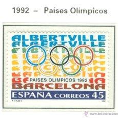 Sellos: PAÍSES OLÍMPICOS. 1992. EDIFIL 3211. Lote 44808617