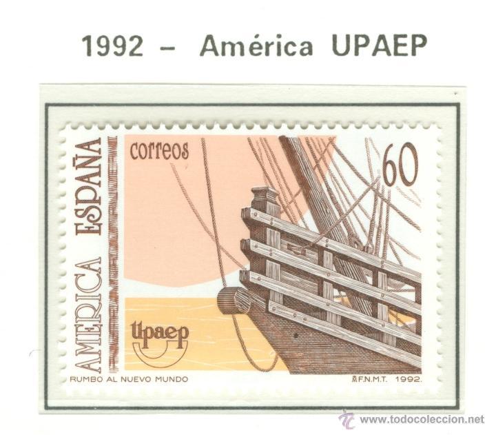 AMÉRICA UPAEP. VI CENTENARIO DEL DESCUBRIMIENTO DE AMÉRICA. 1992. EDIFIL 3223 (Sellos - España - Juan Carlos I - Desde 1.986 a 1.999 - Nuevos)