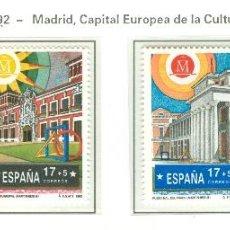 Sellos: MADRID CAPITAL EUROPEA DE LA CULTURA 1992. 1992. EDIFIL 3228-31. Lote 44808802