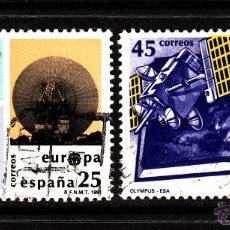 Sellos: ESPAÑA 3116/17 - AÑO 1991 - EUROPA - EL ESPACIO. Lote 140781744