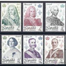 Sellos: ESPAÑA 1978 - REYES DE ESPAÑA CASA DE BORBON - EDIFIL Nº 2496-2505. Lote 44987983