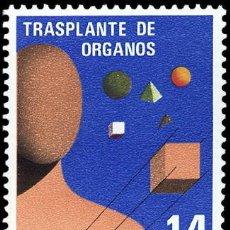 Sellos: ESPAÑA 1982 - TRANSPLANTE DE ORGANOS - EDIFIL Nº 2669. Lote 45082992