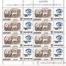 Sellos: ESPAÑA 1983 - DIA DEL SELLO (MINI HOJA) - EDIFIL Nº 2719 - MP 2. Lote 131066145