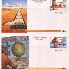 Sellos: ESPAÑA 1984 - AEROGRAMAS - EDIFIL Nº 207-208. Lote 45129365