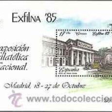 Sellos: ESPAÑA 1985 - EXFILNA'85 - EDIFIL Nº 2814. Lote 95763831