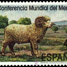 Sellos: ESPAÑA 1986 - CONFERENCIA MUNDIAL DEL MERINO - EDIFIL Nº 2839. Lote 45162795