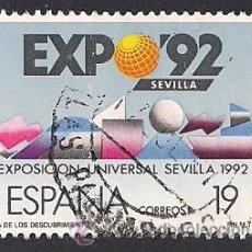 Sellos: EDIFIL 2875. EXPOSICIÓN UNIVERSAL DE SEVILLA EXPO'92. (1987).. Lote 45267729