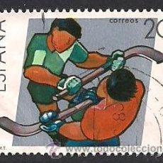 Sellos: EDIFIL 2957. DEPORTES - CAMPEONATO DEL MUNDO DE HOCKEY SOBRE PATINES. (1988).. Lote 45376250