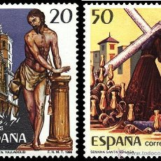 Francobolli: ESPAÑA 1988 - FIESTAS POPULARES - EDIFIL Nº 2933-2934. Lote 45384936