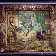 Timbres: ESPAÑA 2014 - TAPIZ - LA MUERTE DE DIDO - BLOCK - EDIFIL Nº 4907. Lote 121826218