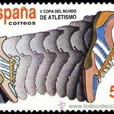 Sellos: ESPAÑA 1989 - COPA DEL MUNDO DE ATLETISMO - EDIFIL Nº 3023. Lote 45541747