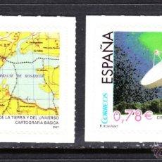 Sellos: ESPAÑA 4314/15** - AÑO 2007 - CIENCIAS DE LA TIERRA Y DEL UNIVERSO. Lote 45551726