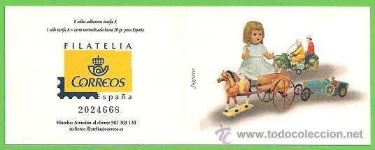 Sellos: EDIFIL 4199C. (4199-4206). JUGUETES ANTIGUOS. (2006).** NUEVOS - TARIFA A. - Foto 2 - 45661004