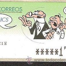 Sellos: ATM ESPAÑA PESETA VALOR MÍNIMO 6 DIG.ESTRECHOS COMICS-.MORTADELO --LIQ.COLECCION--. Lote 45927931