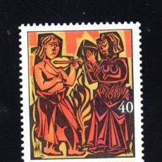 Sellos: ESPAÑA 3817** - AÑO 2001 - MILENARIO DEL NACIMIENTO DE SANTO DOMINGO DE SILOS . Lote 45936786