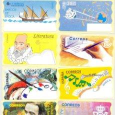 Sellos: 10 ATMS BLANCAS DE LAS PRIMERAS. Lote 46021306