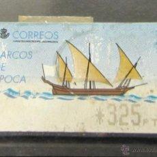 Selos: ATM ESPAÑA. BARCOS DE ÉPOCA 325 PTS. Lote 46089148