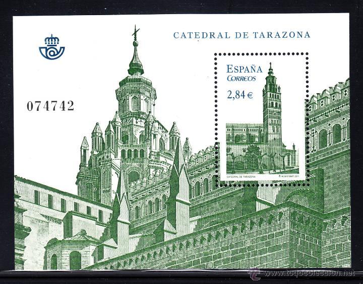 ESPAÑA 4679** AÑO 2011 - CATEDRALES - CATEDRAL DE TARAZONA (Sellos - España - Juan Carlos I - Desde 2.000 - Nuevos)