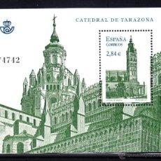 Sellos: ESPAÑA 4679** AÑO 2011 - CATEDRALES - CATEDRAL DE TARAZONA. Lote 46307855