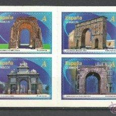 Sellos: ESPAÑA CARNET ARCOS Y PUERTAS MONUMENTALES EDIFIL NUM. 4763/4770 ** NUEVO. Lote 279378208