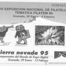Sellos: ESPAÑA 1995- EDIFIL 3340-NUEVO- IV EXPOSICION DE FILATELIA TEMATICA FILATEM 95. Lote 46451997
